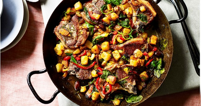 Easy tray bake Moroccan lamb tagine recipe