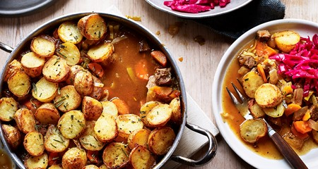 Leftover lamb hotpot recipe