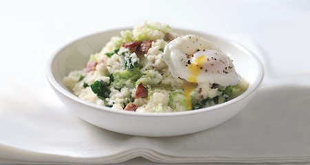 Colcannon mashed potato