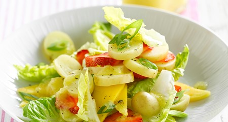 Summer Fruity Potato Salad Recipe