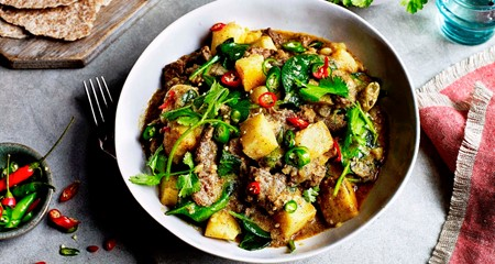 Sri Lankan Beef and Potato Curry