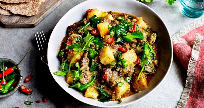 Sri Lankan Inspired Beef and Potato Curry