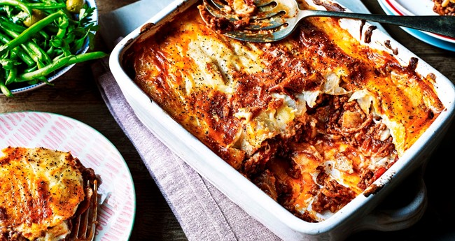 Greek Style Beef and Potato Moussaka