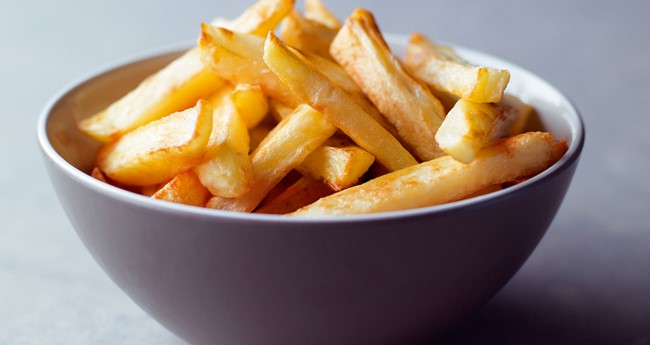 How to fry chips at home